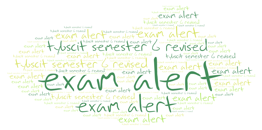 tybscit-exam-time-table-semester-6-revised